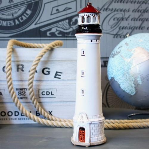 Rankų darbo keramikinis švyturys žvakidė – Lyngvig Danija