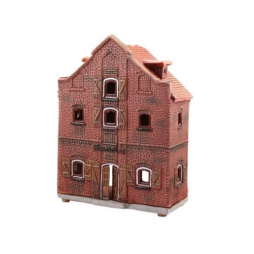 Rankų darbo keramikinis suvenyras namelis Memelis Klaipėda