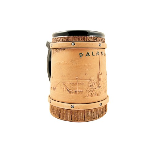 Rankų Darbo Keramikinis bokalas Palanga