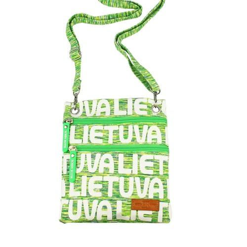 Žalia sportinio stiliaus kaklo, kelioninė piniginė Lietuva