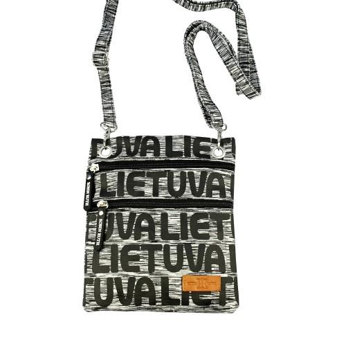 Pilka sportinio stiliaus kaklo, kelioninė piniginė Lietuva