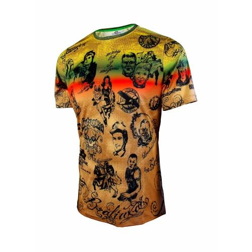 """Vyriški marškinėliai TATTOO BRALIUKAI """"Audimas"""""""