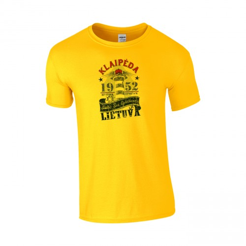 Medvilniniai marškinėliai Klaipėda Švyturys