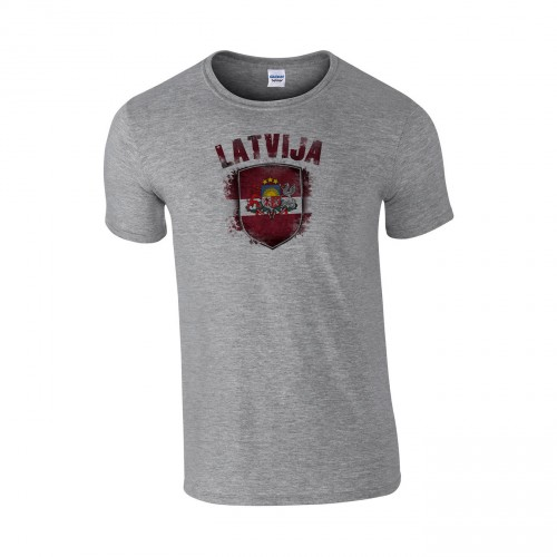 Medvilniniai marškinėliai Latvija
