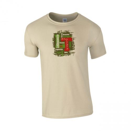Medvilniniai marškinėliai LT