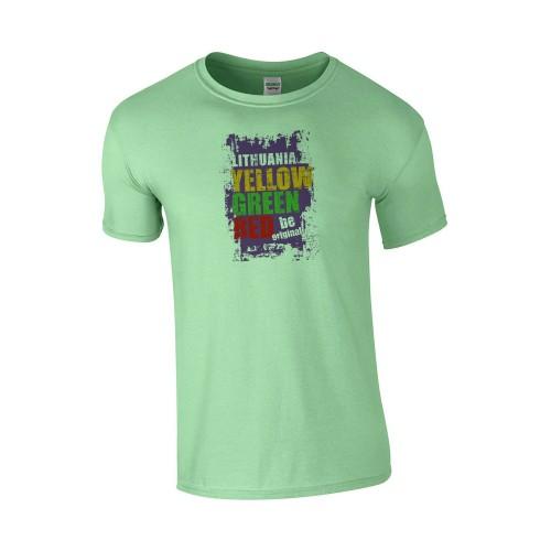 Medvilniniai marškinėliai LITHUANIA