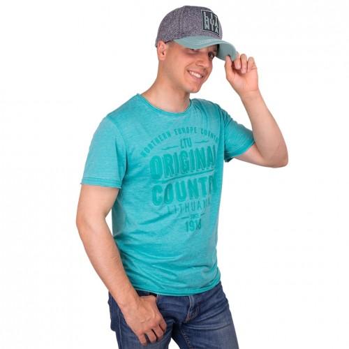 """Žali marškinėliai """"Lithuania Original"""" Robin Ruth"""