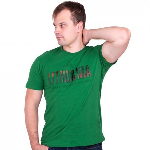 Žali marškinėliai Feel Lithuania - Robin Ruth
