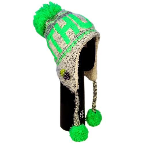 Žieminė kepurė su bumbulais LITHUANIA - Robin Ruth