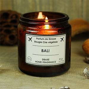 """Natūralaus vaško aromatinė žvakė """"BALI"""""""
