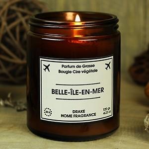 """Natūralaus vaško aromatinė žvakė """"BELLE-ILE-EN-MER"""" 35 val."""