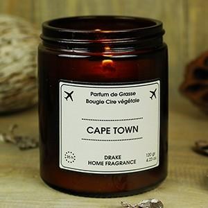 """Natūralaus vaško aromatinė žvakė """"CAPE TOWN"""" 35 val."""