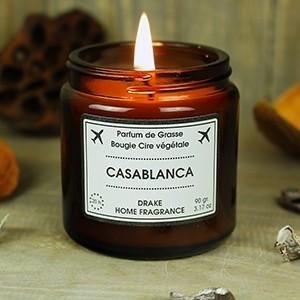 """Natūralaus vaško aromatinė žvakė """"CASABLANCA"""""""