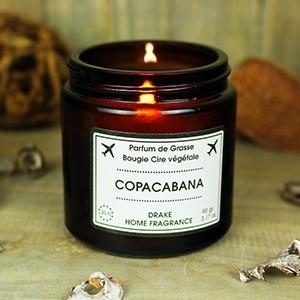 """Natūralaus vaško aromatinė žvakė """"COPACABANA"""""""