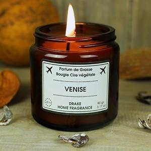 """Natūralaus vaško aromatinė žvakė """"VENISE"""""""