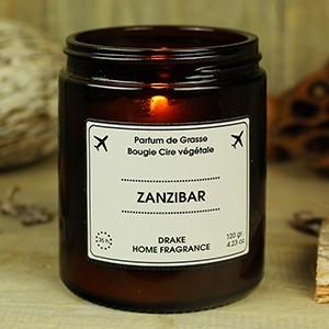 """Natūralaus vaško aromatinė žvakė """"ZANZIBAR"""" 35 val."""