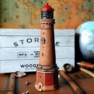 Rankų darbo keramikinis švyturys žvakidė – Borkum Vokietija