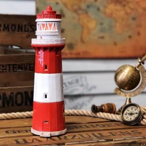 Rankų darbo keramikinis švyturys žvakidė – Borkum Kleiner Turm Vokietija