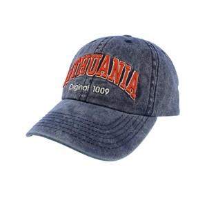 Mėlyna kepurė nuo saulės su snapeliu Lithuania Original 1009