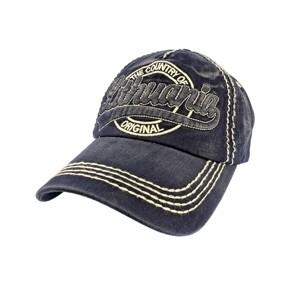 Mėlyna džinsinė kepurė nuo saulės Lithuania Country of Original