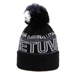 Trumpa žieminė kepurė LIETUVA
