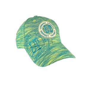 Sportinio stiliaus, kanapėta kepurė LT Lietuva, žalsva