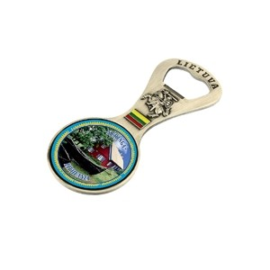 Metalinis magnetas - butelio atidarytuvas Nida žvejo namas