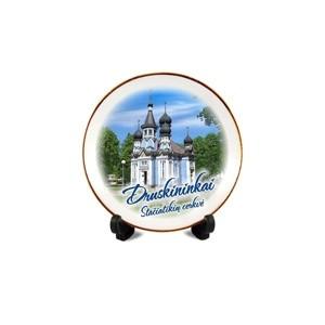 Porcelianinė lėkštutė su magnetu Druskininkų Cerkvė