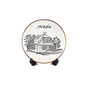 Porcelianinė lėkštutė su magnetu Nida
