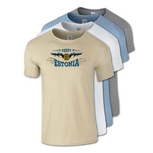 Medvilniniai marškinėliai Estonia