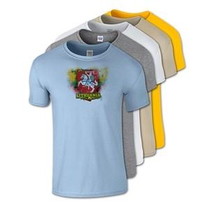 Medvilniniai marškinėliai Vytis Lithuania
