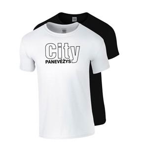 Medvilniniai marškinėliai Panevėžys City