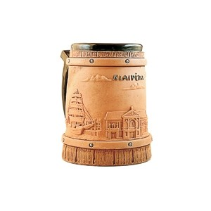 Rankų darbo keramikinis bokalas Klaipėda