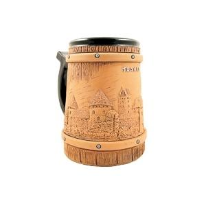 Rankų Darbo Keramikinis bokalas Trakai