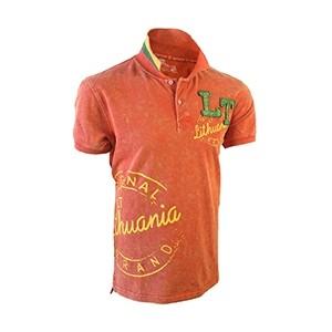 Garinti raudoni Polo marškinėliai