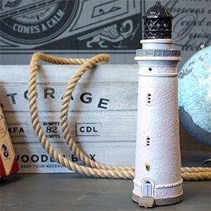 Rankų darbo keramikinis švyturys žvakidė – Hirtshals Danija