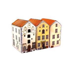Rankų darbo keramikinės miniatiūros Trys seserys komplektas