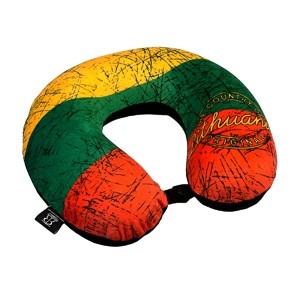 Kelioninė pagalvėlė Lietuva trispalvė
