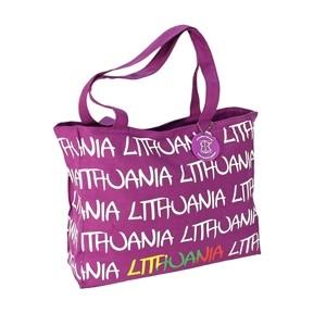 Violetinė moteriška rankinė Lietuva