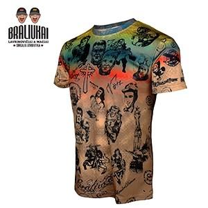 Vyriški marškinėliai – Tattoo BRALIUKAI