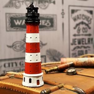 Rankų darbo keramikinis švyturys žvakidė – Westerheversand Vokietija