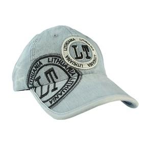 Melsva džinsinė kepurė su snapeliu Fashion Lithuania LT