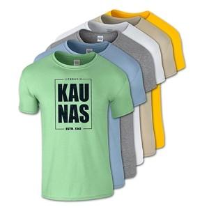 Medvilniniai marškinėliai Kaunas