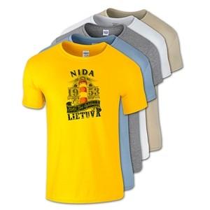 Medvilniniai marškinėliai Nida Švyturys