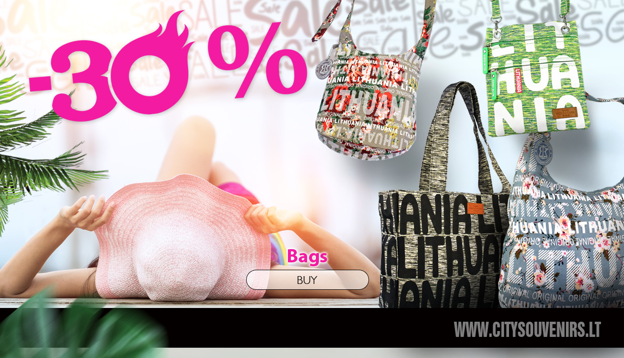 Discount for all Bags